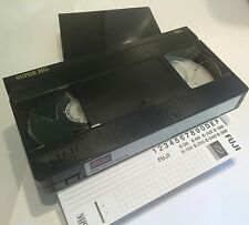 FUJI SUPER HG E180 TOP QUALITY VHS VIDEO CASSETTE TAPE NEW IN LIBRARY CASE fbf1d