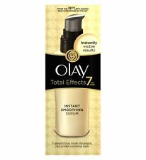 Olay Total Effects 7-in-1 Anti-Ageing Instant Smoothing Serum 50ml NEW & SEALED