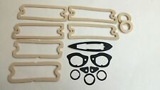 1964 64 Chevelle Paint Gasket Seal Kit SS Tail Light Parking Lens Door Handle