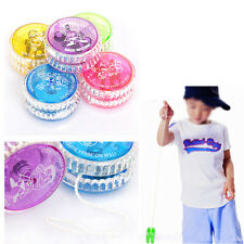 Flashing LED Glow Light Up YOYO Party Colorful Yo-Yo Toys For Kids Boy Toys Gift