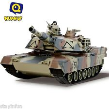 New HUANQI 781 - 10 M1A2 Simulation Infrared RC Battle Tank  Remote Control Toy