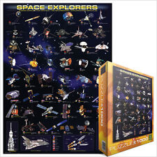JIGSAW  EG60002001   Eurographics Puzzle 1000 Pc - Space Explorers