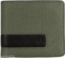 Men's Nixon Showout Bi-Fold Surplus Nylon Wallet. RRP $39.99. NWT.