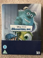 Disney - Monsters Inc - Zavvi Blu Ray Steelbook