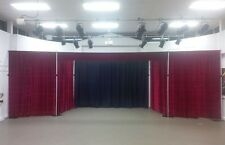 Black Serge Wool Backdrop For Stage, Theatre, or Photo studio. 5m x 5m