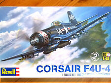 Revell Monogram 1:48 F4U-4 Corsair Aircraft Model Kit