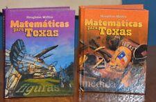 Matematicas para Texas, 3rd Grade & 5th Grade [Hardcover] NEW SPANISH MATH BOOK