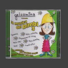 CD GELSOMINA TI PRESENTA LA MUSICA DEI BIMBI 3 SIGLE TV ANNI 80 NUOVO SIGILLATO