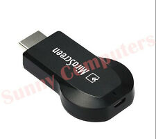 HDMI Dongle Wireless WiFi TV Stick MiraCast For iPad iPhone Android Mobile 1080P