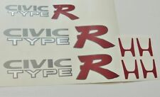 HONDA CIVIC EK9 TYPE R Adesivo Set Inc 2 x Pannello Laterale + Boot Decalcomania-JDM