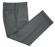 Men's BURDI Italian Verona Wool Flat Front Dress Pants 50 / 34 NWT $195!