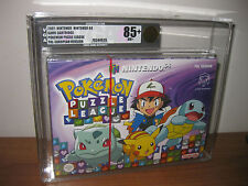 Pokemon Puzzle League VGA 85+ - Nintendo 64 N64 - Brand New - Factory Sealed