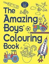 The Amazing Boys' Colouring Book by Jessie Eckel Paperback BRAND NEW