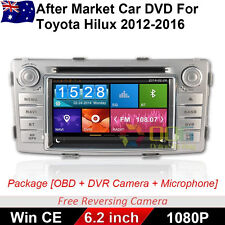 "6.2"" CAR DVD GPS For Toyota Hilux With DVR CAM OBD Free Reversing CAM"