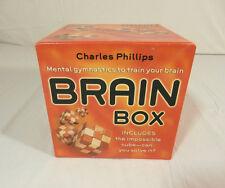 BRAIN BOX Impossible Cube With Book & Original Box
