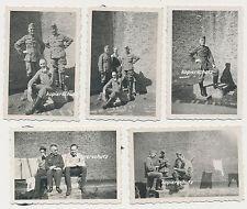 5 x Foto Belgien-Brügge-Soldaten Wehrmacht 2.WK  (1148)