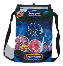 ANGRY BIRDS STAR WARS DRAWL STRING BACKPACK NEW