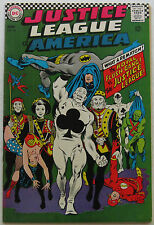 Justice League of America #54 (Jun 1967, DC), VFN-NM, vs. the Royal Flush Gang
