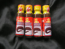 4x20ml Bottles Leech Oil Minyak Lintah Male Genital Enlargement&Blood Flow