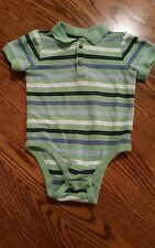 OLD NAVY Boys 18-24 month short sleeve snap tee with collar