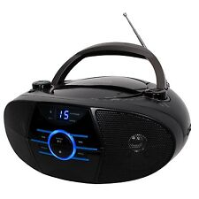 BLUETOOTH STEREO CD PLAYER AM/FM RADIO AUX-IN for iPOD, MP3 PLAYER or CELL PHONE