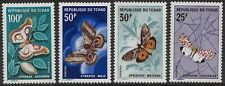 CHAD Sc # 159-62 CPL MNH MOTHS