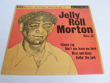 JELLY ROLL MORTON No. 2 Ex+ RCA 1950s UK P/S EP