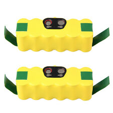 2x 14.4V 3000mAh NiMH Vacuum Battery for iRobot Roomba 500 550 560 570 610 780