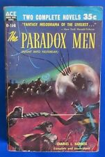 1955 THE PARADOX MEN/DOME AROUND AMERICA by Harness Paperback Ace D118 VG-