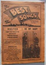 BEST SONGS MAGAZINE WIN 1963 BEACH BOYS TRINI LOPEZ PEGGY MARCH HOOTENANNY