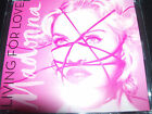 Madonna Living For Love Rare UK 4 Track Remixes CD Single
