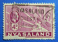 1935 NYASALAND 4d SCOTT# 43 S.G.# 119 USED                               CS20901