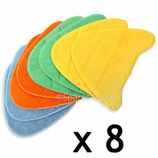8 x Floor Covers Pads for HOLME HDSM4001 ADSM4001 Steam Cleaner Floor Mop