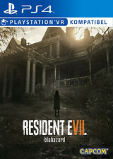 Resident Evil 7 VII Biohazard 2017 Neu New Lagerware Stock PS4 Box Playstation