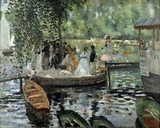 Auguste Renoir La Grenouillere Giclee Canvas Print Paintings Poster Reproduction
