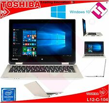PORTATIL TOSHIBA L12-C-104 4GB DDR3 HDD 500GB W10 PRO ACADEMIC CELERON TFT LED