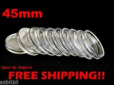 20 PCS DIRECT FIT AIRTIGHT COIN CAPSULES HOLDERS CAPSULES 45 mm(1.77 inches)