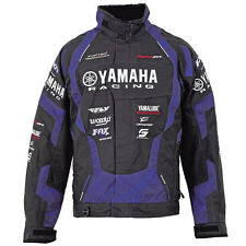 NEW YAMAHA RACE REPLICA CREW SNOWMOBILE JACKET BY FXR LARGE LG SMB-14JCR-BK-LG