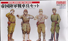 FINE MOLDS FM22 - IMPERIAL JAPANESE ARMY TANK CREW SET 1/35 - NUOVO