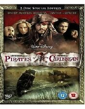 PIRATES OF THE CARIBBEAN DVD AT WORLD'S END 3RD MOVIE THIRD PART 3 BRAND NEW UK