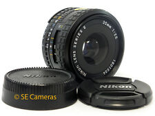 NIKON AIS 35MM F2.5 SERIES E AI-S WIDE LENS NEAR MINT CONDITION USE WITH DSLR