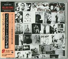 Rolling Stones - Exile On Main St. CD JAPAN 1ST PRESS 1986 42DP-601 NEW s4468