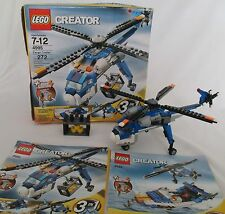 LEGO Creator 3 in 1 Cargo Copter  #4995 - (Retired Set) 272 Pieces Ages 7-12