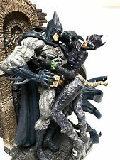 DC Comics Batman & Catwoman on Balcony Porcelain Figure Statue Artfx Kotobukiya