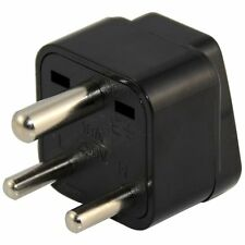 2 Pack Universal US EU AU to South Africa India Wall Power Plug Travel Adaptor