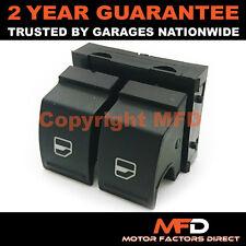 Ventana de energía eléctrica doble interruptor de botón frontal para Volkswagen Touran 2006 en
