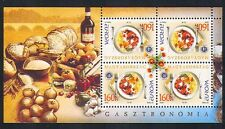 Hungary 2005 Europa/Food/Gastronomy/Wine/Flowers/Cooking 4v s-t m/s (n33706)