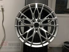 "18"" SILVER LEXUS ISF LFA STYLE RIMS WHEELS FITS IS250 IS300 IS350 F SPORT"