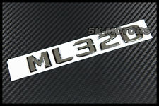 CHROME AMG ML320 TRUNK LETTER EMBLEM BADGE FOR MERCEDES BENZ W163 W164 ML CLASS