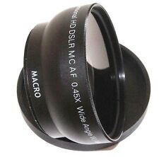 Hi Definition Wide Angle With Macro Lens For Canon Rebel T3 T3i XTi